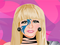 Play Lady Gaga Dressup