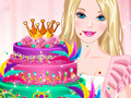 Play Barbies Diamond Cake