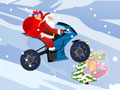 Play Santa Claus On Bike