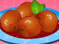Play Peaches Poached in Wine