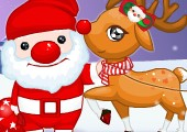 Play Christmas Cute Reindeer