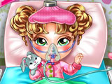 Play Baby Flu Doctor Care