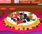 Play Cheesecake with Fruits