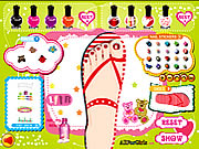 Play Sweet Feet Nail Polish