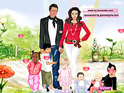 Play Angelina And Brad Dressup