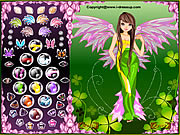 Play Forest Angel Dress Up